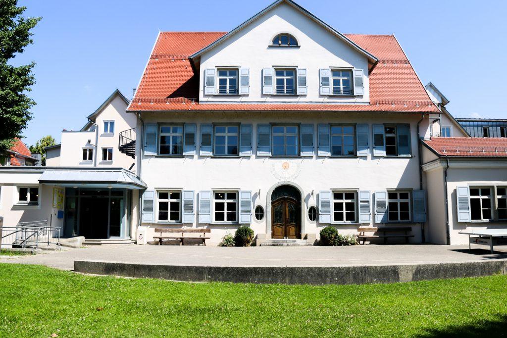 Die Jugendherberge Lindau von außen