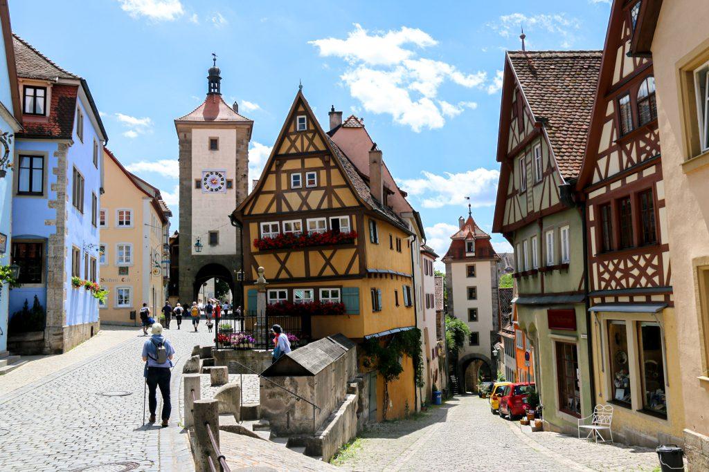 Plönlein in Rothenburg