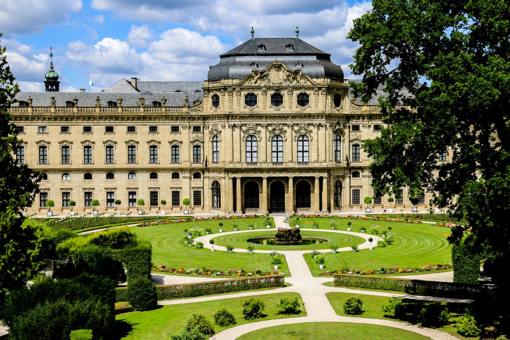 Residenz Würzburg mit