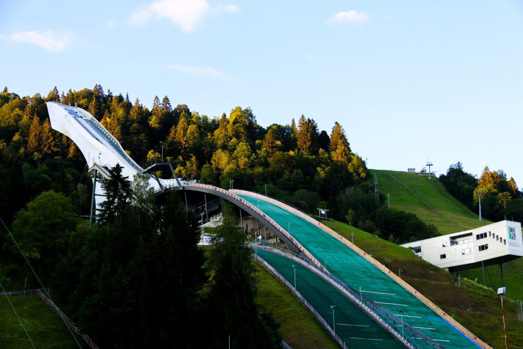 Olympia Skisprungschanze in Garmisch Partenkirchen