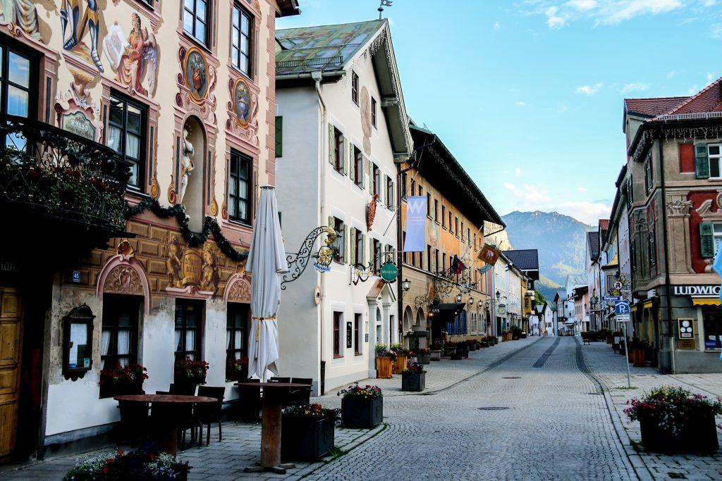 Ludwigstrasse in Garmisch
